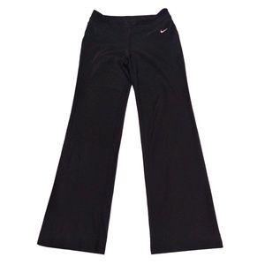 NIKE DRI FIT  black leggings size ML